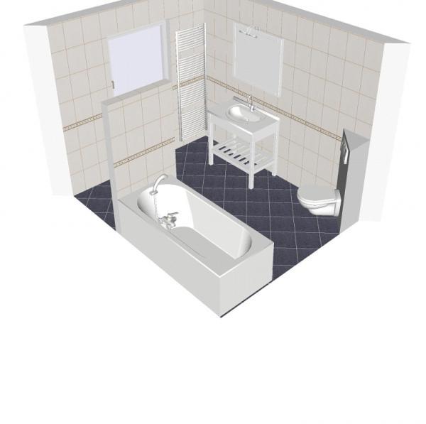 Ontwerpen badkamer